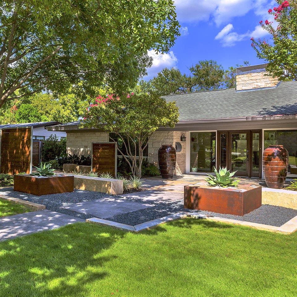 Dallas Landscape Architect | Southwest Zero Scape Garden