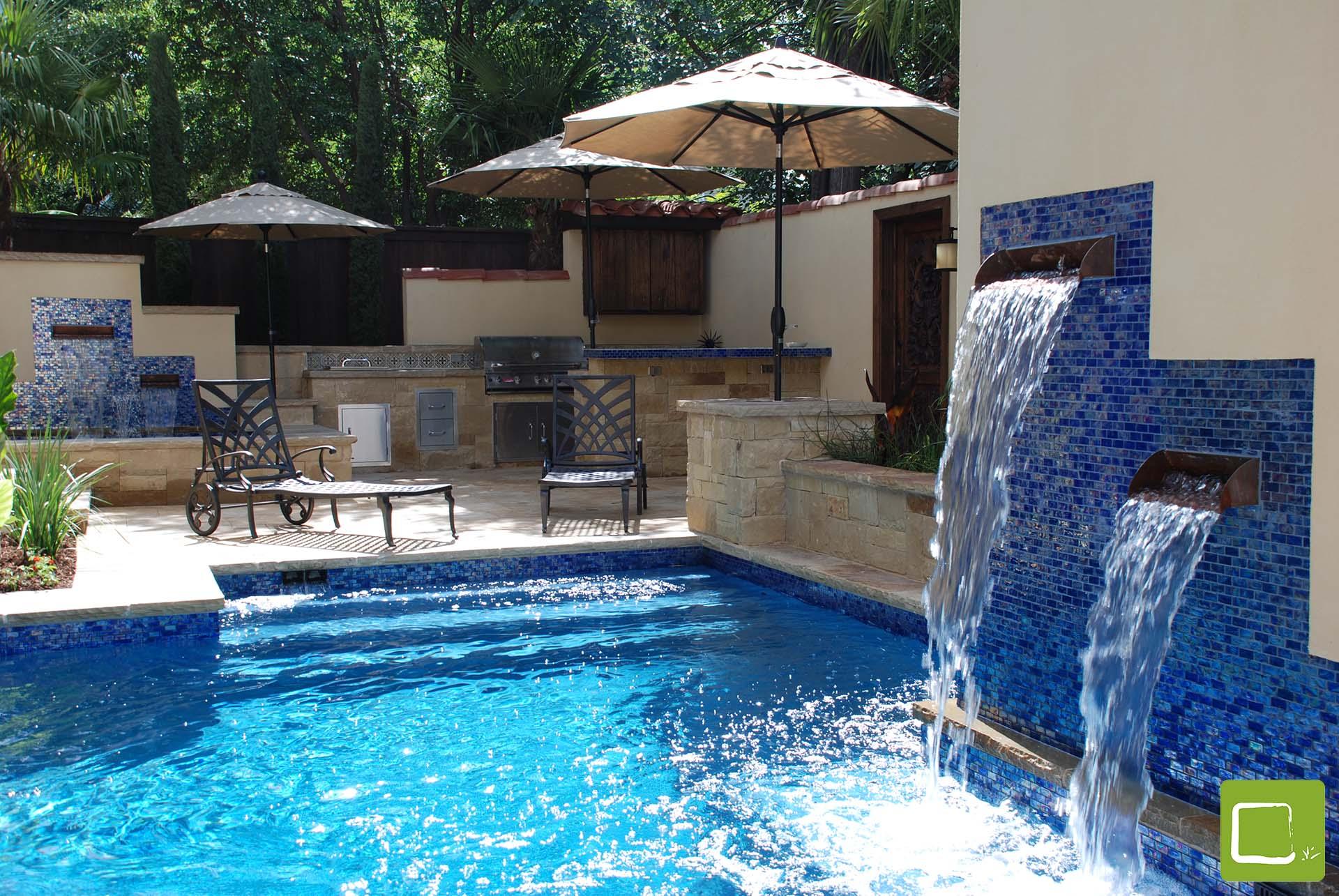 Dallas Landscape Architect | Plunge Pool | Original ...