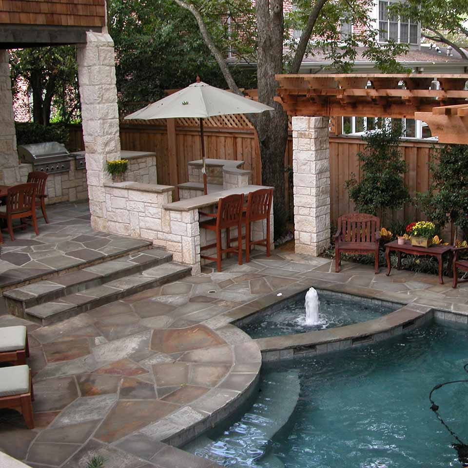 pool transitional modern landscape residential landscape architect design build Original Landscape Concepts